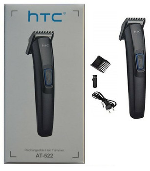 HTC AT-522 Original Rechargeable Hair Trimmer Runtime: 45 Min for Men & Women (DOM-KRNTY-AMD-1)