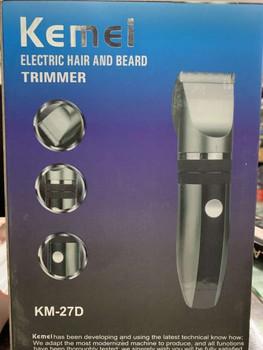 Kemei KM-27D Electric Hair And Beard Trimmer (DOM-KRNTY-AMD- 01)