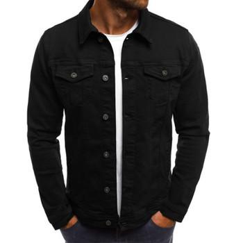 Fashion-Mens Brand Designer Jackets Vintage Solid Color Denim Cowboy Shirts Male Female Winter Thin Jacket Casual Coat