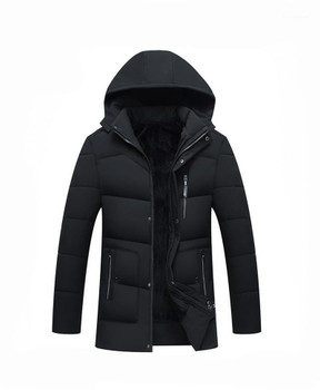 Outerwear Middle Aged Mens Jacket Males Apparel Men New Hooded Designer Down Jackets Winter Cotton Padded