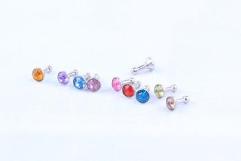 Earphone Headphone Diamonds Dust Plug Dust Cap 3.5mm Crystal Universal Mobile Phone Accessory