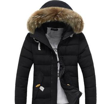 Luxury Winter Jacket Mens Designer Down Parka Outerwear Big Fur Hooded fashion Down Jacket Coat Size M-XXXL