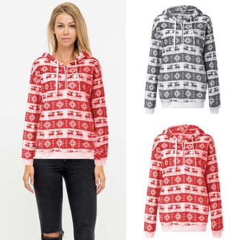 Women's Hoodies & Sweatshirts Hirigin Unisex Harajuku Christmas Xmas Women Men Novelty Jumper Retro Hoodie Pullover Top Couple Clothes
