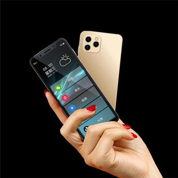 """Original K-touch S11S Mini Smartphone 4GB 64GB 4.8"""" android 9.0 Face Recognition Unlocked LTE 4G Dual Sim Card cellphone Support Google Play Small Student Mobile Phone"""