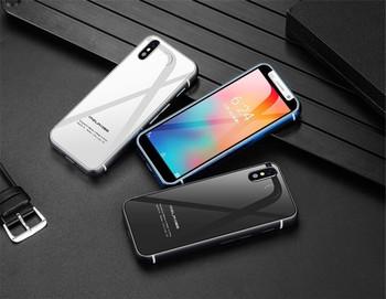 Super mini 4G LTE smart phone Android 8.1 smartphone 2GB+32GB original Melrose Quad Core 5.0M Dual SIM Fingerprint Face ID mobile cell phone