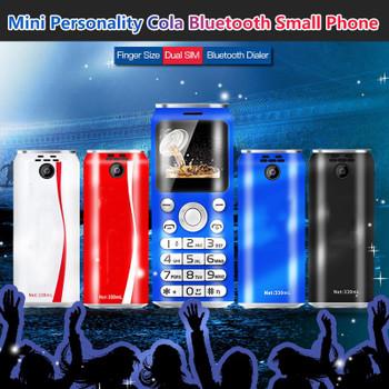 Original SATREND K8 Cartoon Shell Ultra Thin Mini Celular Low Radiation student cell mobile phone Bluetooth dialer Dual Sim Card Cellphone