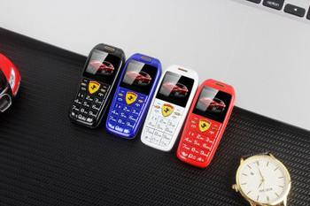"Tiny Size Push Button Mobile Phone Mini Car Key Hands Telephone 1.0"" Magic Voice MP3 Bluetooth Dialer Cheap Children Cartoon CellPhone"