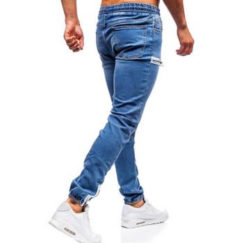 New Fashion Zipper1 Pants Casual Drawstring Jeans Training Jogger Athletic Pants Sweatpants 2020 Men's Elastic Cuffed