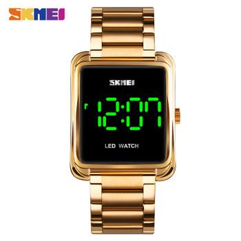 LED Display Men Digital Wrist Watches 2020 Top Brand Luxury Stainless Steel Waterproof Male Clock Relogio Masculino