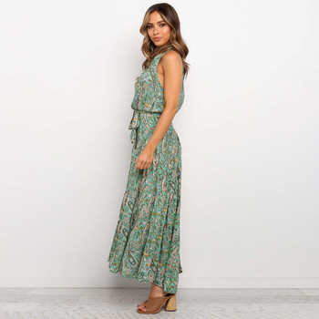 Two Piece dress Floral Print Womens Split beach Boho designer dress Evening Gowns Party Long Maxi Dress Summer Sundress Clothing midi