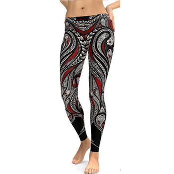 Gothic Leggings Fitness Clothing For Women Sporting Pants Skinny Running Pants 3D Digital Printing Sexy Pencil Jeggings