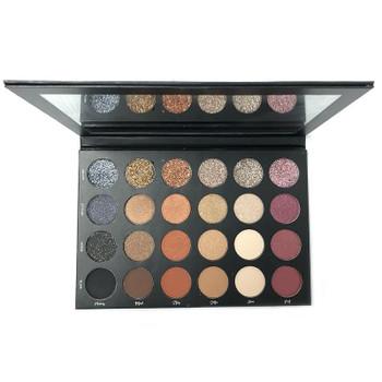 TATI beauty eyeshadow powder Christmas Gifts 24 Color shimmer matte glitter lasting Textured Eye shadow Palette