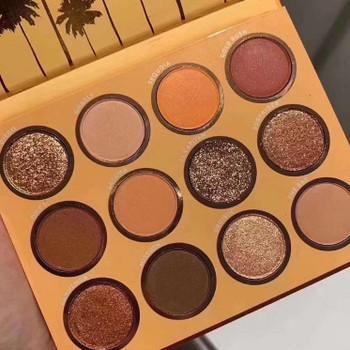 Maquillage makeup 12color/set eyeshadow palette moon dust California love pressed powder palette