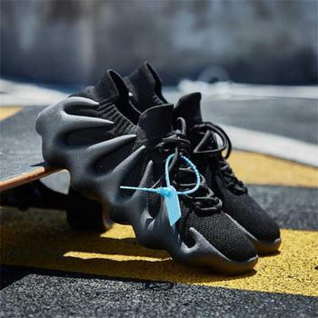 Trendy Men's Sneakers Portable Breathable Men Shoes Big Size Women Comfortable Gym Casual Tenis Zapatillas Hombre35-44
