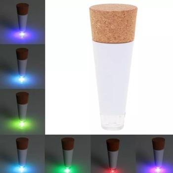 Newest Originality Light Cork Shaped Rechargeable Christmas USB Bottle Light Bottle LED LAMP Cork Plug Wine Bottle USB LED Night Light L0803