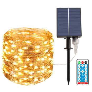 Outdoor Waterproof Solar Controller Docking 3V/24V LED String Lights Garden Indoor Decorative Lights Yard Lamp led