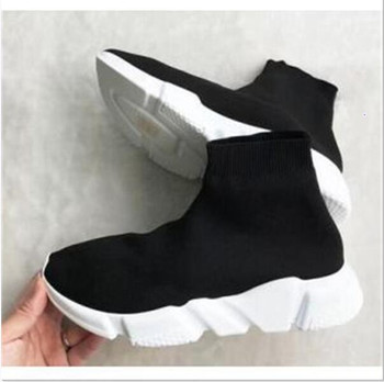 Fashion Designer Socks Boot Speed Trainer Casual Shoes Sneakers Race Runners for men and women Sports Shoes Boots 36-45