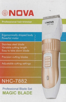 BUY 1 GET 1 FREE For Nova NHC-7882 Rechargeable Trimmer