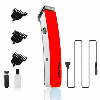 Nova Hair Trimmer NS-216 cordless trimmer + Nova Professional Hair Dryer Foldable 1000 watt