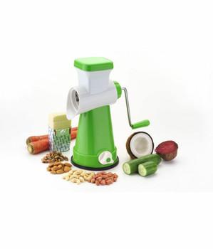 BUY 1 GET 1 FREE For 4 IN 1 Vegetable Fruit Cutter Slicer, Multi Grater Slicer , with interchangeable blades