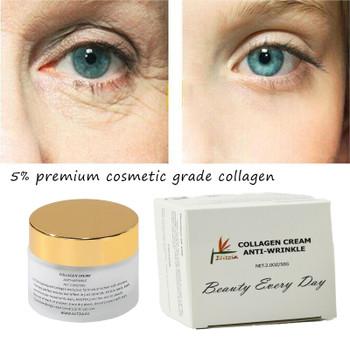 Collagen Cream Skin Care Anti Aging Facial Cream Natural Skin Smoothing 50g Elitzia ETCC001