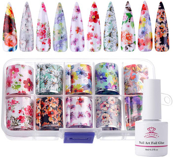 Makartt Nail Art Foil Glue Gel for Foil Stickers Nail Transfer Tips Manicure Art DIY 15ML 1 Bottles Nail Curing Lamp Required