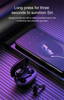 2021 T9s TWS In ear bluetooth Wireless earphone Led power display Noise Reduction Headphones Stereo Earbuds Handsfree Sports Headsets DHL