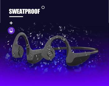 Wireless Headset Bluetooth 5.0 Z8s Bone Conduction Headphones Outdoor Sports Headphones with Microphone Handsfree Headset