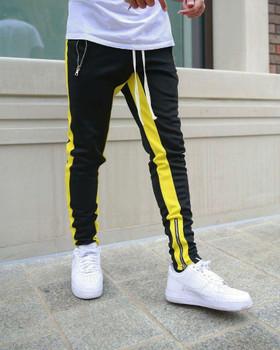 Men's Jogger Pants Fashion Summer Long Pants with Zipper Hot Sale Men Casual Sports Pants for Running 5 Colors Size M-3XL