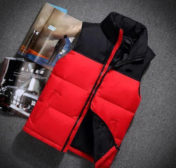 2021 New north Winter men's Down puffer jacket Casual Brand Hoodies Down Parkas Warm Ski Mens face vest 60