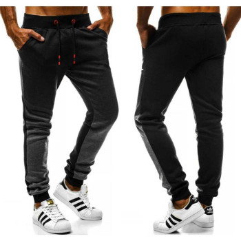 Sport Fitness Gradient Mens Pants Comfortable Breathable Full Length Pants Casual Fashion New Men Designer Clothing