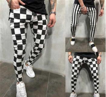 Fashion Slender Stylish Comfortable white Black Plate Pockets Casual Broek Boys men Summer Pretty clothes S-XXL