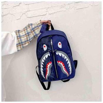 Kids Bag Cartoon Shark Schoolbag Purse Personalized Graffiti Student Children Fashion Backpack School Students Boy Mini Bags For Girls G80PEWT