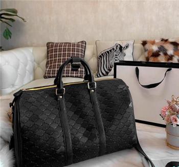 Designer- Travel Bags Mens Embossed Duffel Bag Fashion Outdoor Pack with Large SpaceHigh cap Multifunctional Handbag Shoulder Bagss