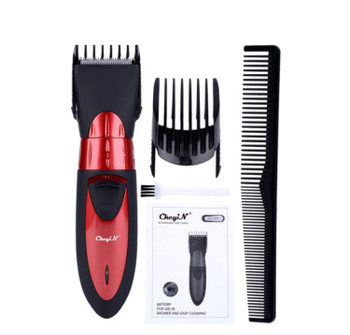 Rechargeable Hair Clipper Professional Barber Trimmer Beard Trimmer Hair Cutter Low Noise Electric Mens Hair Cutting Machine
