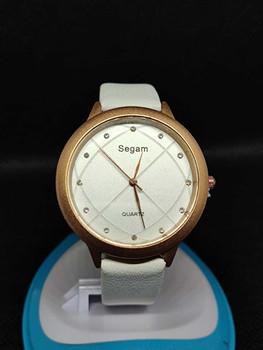Segam White Diamond Women's Watches Fashion Leather Watch Brand Segam Women Watches For Women Personality Romantic Watch