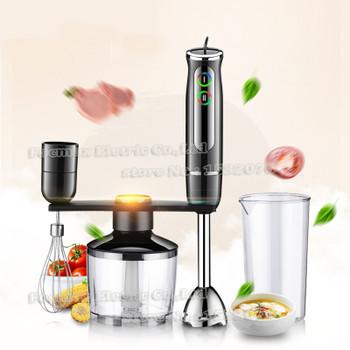 BPA free 600W Electric Stick Blender Hand Blender Egg Whisk Mixer Juicer Meat Mincer Grinder Baby Food Processor
