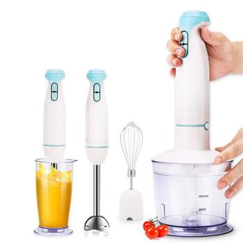 Hot Sale Multifunctional Household Electric Stick Blender Hand Blender Egg Whisk Mixer Juicer Meat Grinder Food Processor