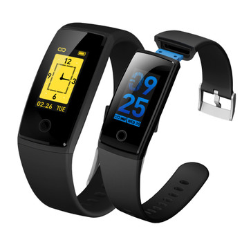 ZUCOOR Smart Health Bracelet Tonometer Tracker Wristband Pedometer Fitness Electronics Bluetooth Touchscreen Wearable Devices