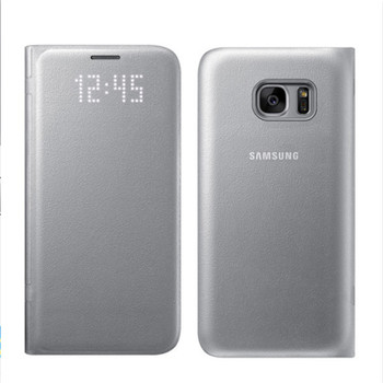Samsung LED View Smart Cover Phone Case for Samsung Galaxy S7 With Sleep Function