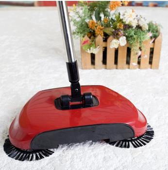 Stainless Steel Sweeping Machine Push Type Magic Broom Dustpan Handle Household Vacuum Cleaner Hand Push Sweeper Floor Robotic