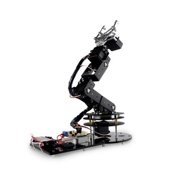 Industrial Robot 550 Mechanical Arm 100% Alloy Manipulator 6 Degree Robot arm Rack with 6Pcs LD-1501MG Servos + 1 Alloy Gripper