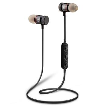 Supology Magnet Sport In-Ear Bluetooth Earphone Earpiece Handsfree Stereo Headset Wireless Earphones with Mic for Iphone 7