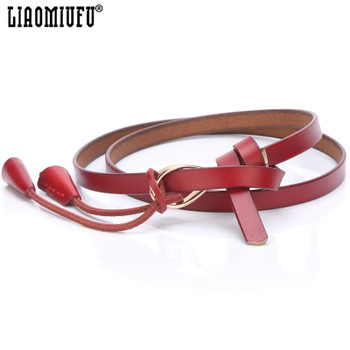 LIAOMIUFU New Women Belt High Quality Cow Genuine Leather Belts For Women Fashion Brand Casual Womens Dress Leather Belt
