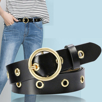 New Arrival Luxury Lady Genuine Leather Luxury Brand Belt Female Cowhide Strap Leather Waistband Hollow Out Belts for Women