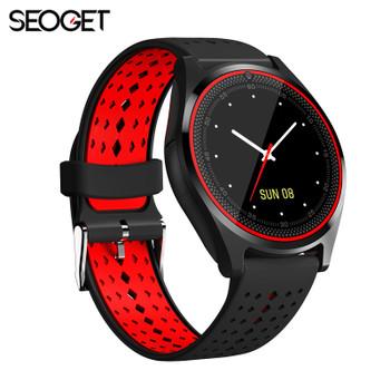1.22'' IPS bluetooth Smart Watch TF/SIM card smart phone watch pedometer fitness watch for iOS Android smartwatch men/women