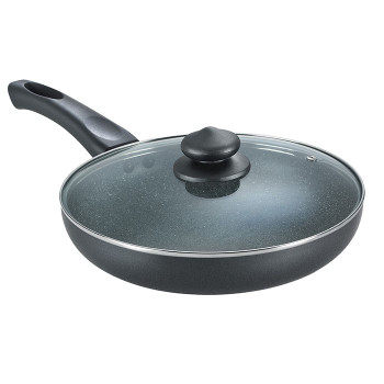 Prestige Omega Deluxe Fry Pan With Lid (240mm)