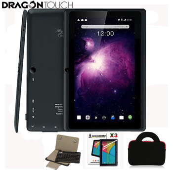 Dragon Touch Y88X Plus 7 inch Tablet Quad Core Android 5.1 + Tablet case + Screen Protector + keyboard