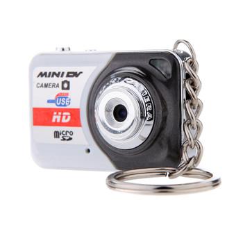 Portable X6 Digital Camera Ultra HD Mini Camera 32GB TF Card w/ Mic Digital Video Camera PC DV Camcorder Shooting Recording