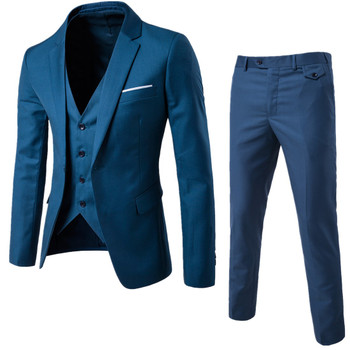 MarKyi 2017 new plus size 6xl mens suits wedding groom good quality casual men dress suits 3 peiece (jacket+pant+vest)